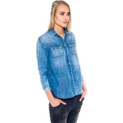 efe33c7d1bdeb1 Niebieskie koszule jeansowe damskie pepe jeans, lato 2019 w Domodi