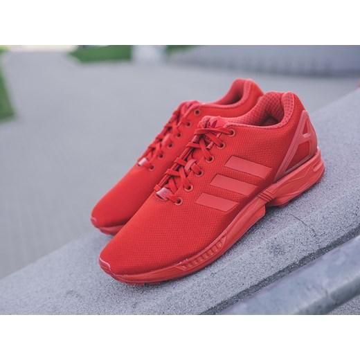adidas zx flux czerwone damskie