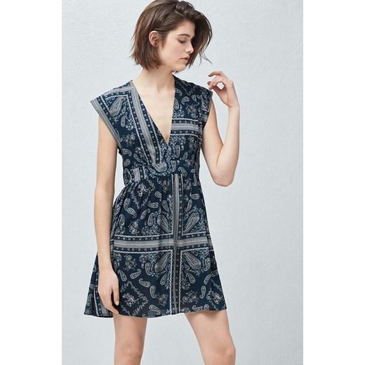 f15c5c45eb Mango - Sukienka Bandana Mango XS wyprzedaż ANSWEAR.com ...