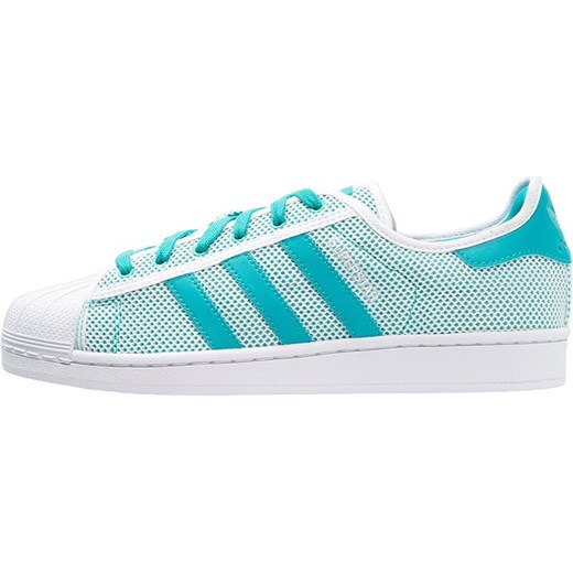 new arrival 6112a e4740 adidas Originals SUPERSTAR ADICOLOR Tenisówki i Trampki white shock green  mietowy Adidas Originals 37 1 ...