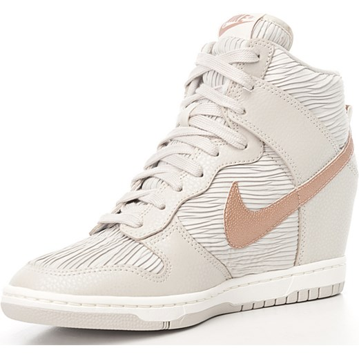 new concept f55fa 2d626 ... discount code for nike buty damskie wmns dunk sky hi nike bezowy 38  newmodel.pl