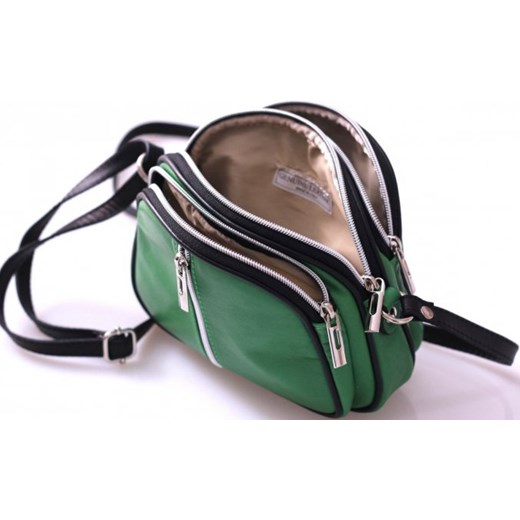 5a2f6781936f1 ... Bestseller Torebki skórzane Listonoszki Super Cena Zielona (kolory)  zielony Genuine Leather PaniTorbalska ...