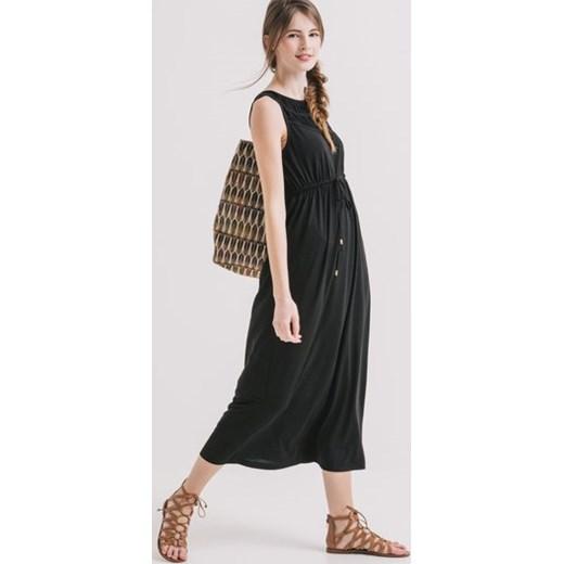 906091a2aa Promod Dzianinowa sukienka maxi Promod czarny XS promod.pl