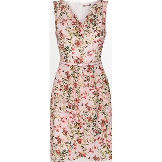 713346b17a Zwiewna sukienka w kwiaty Orsay bezowy orsay.com w Domodi
