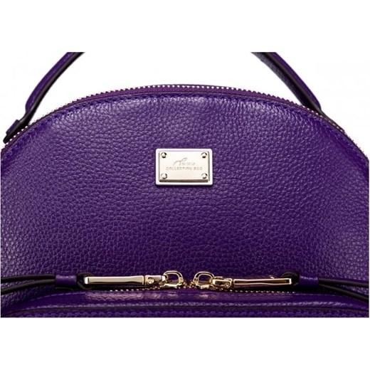 6037dd1b6e60d Subtelny damski plecak z ćwiekami Purpurowy etorba-pl granatowy Plecaki  damskie. Zobacz: Nucelle