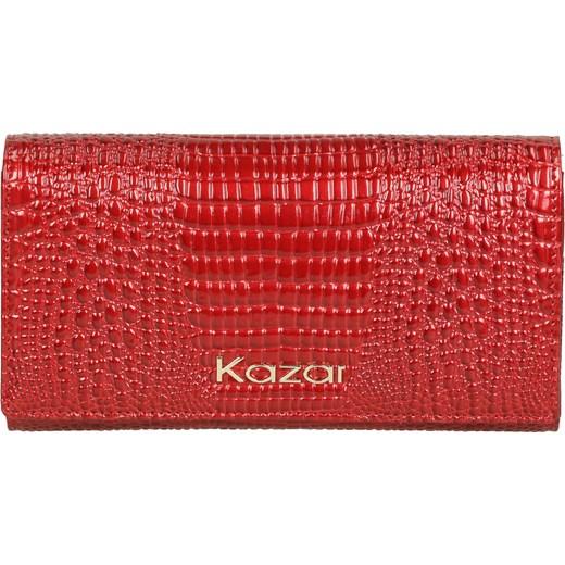 cb1331e1b86a0 Czerwony portfel damski czerwony Kazar kazar.com ...