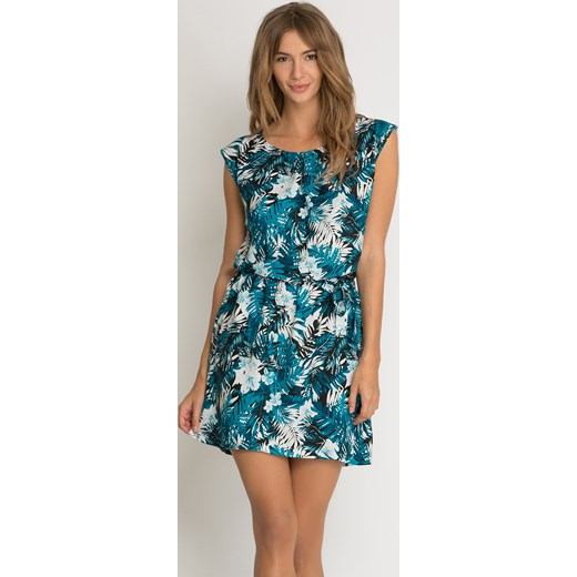e8301d1b8e ... Jerseyowa sukienka w palmy Orsay 34 orsay.com. Zobacz  ORSAY