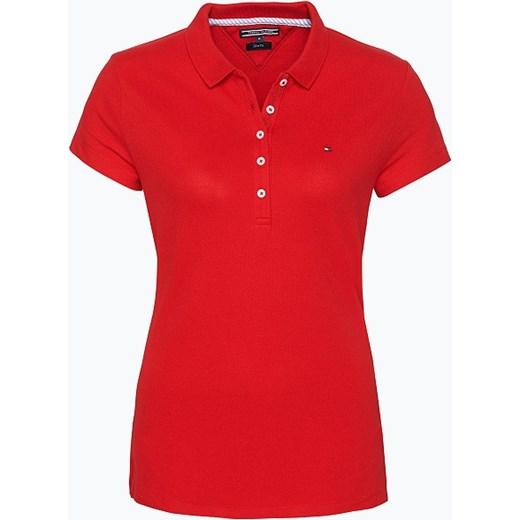Tommy Hilfiger Damska koszulka polo – New Chiara, czerwony pomaranczowy vangraaf