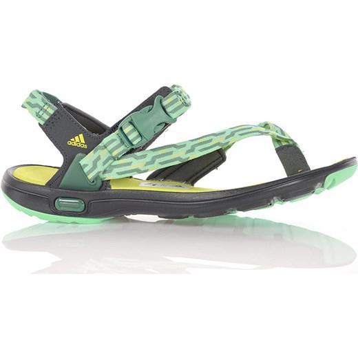 43190815 Adidas Sandały Damskie Libria Sandal zielony Newmodel.pl w Domodi