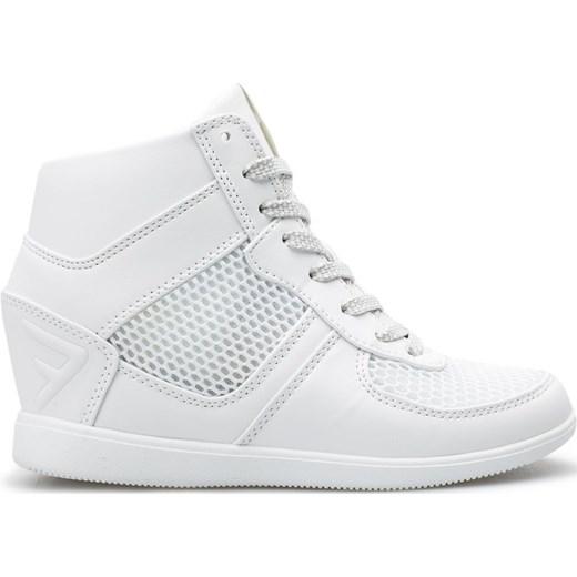 [C4L16 OBDL252] Buty miejskie damskie OBDL252 biały 4F