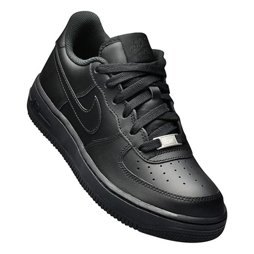 the latest fbee0 2be2c ... Buty Nike Air Force 1 Low (GS)  All Black  (314192- ...