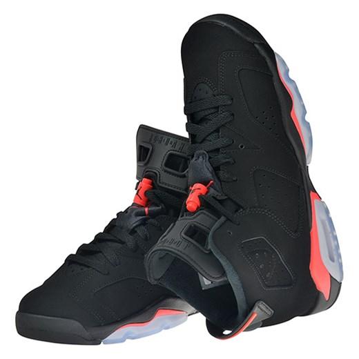 profesjonalna sprzedaż 100% wysokiej jakości gorące nowe produkty Buty Air Jordan 6 Retro (BG) Black/Infrared (384665-023) Worldbox