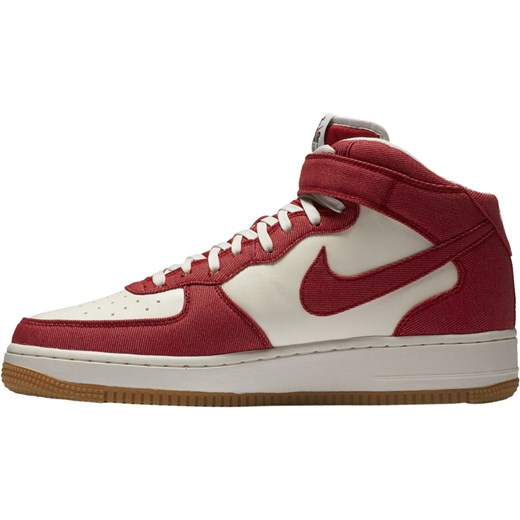 buty nike air force 1 mid 07 university red