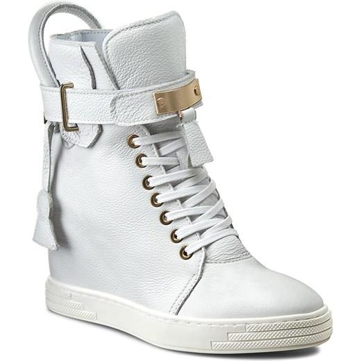 Sneakersy R.POLAŃSKI 0832 Biały Lico R. Polański szary eobuwie.pl