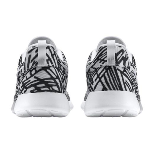 bb558ea6e18 popular brand nike wmns roshe one print white white black 599432 110 ...