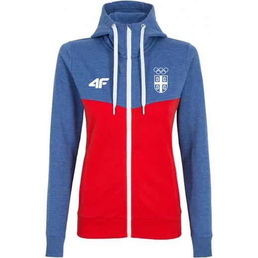7cf85a48a [S4L16-BLD700] Replika bluzy dresowej damskiej Serbia Rio 2016 BLD700 -  granatowy 4F