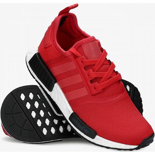 buty adidas nmd primeknit czerwone