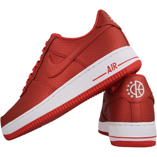 the latest 8bf6a 88e5d Buty męskie sneakersy Nike Air Force 1 07 LV8 718152 607 czerwony Nike 46  sneakerstudio ...
