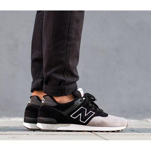 d181d0155ad0a Buty męskie sneakersy New Balance Made In UK M576PKG New Balance czarny  42,5 okazja ...