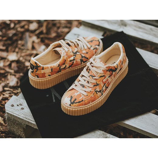 buty damskie sneakersy puma suede creepers