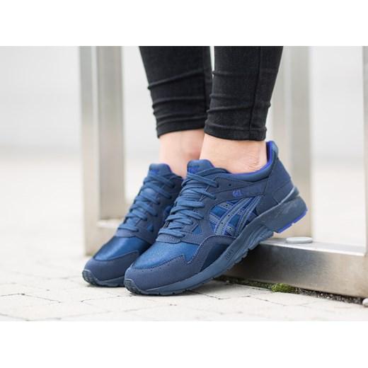 Buty damskie sneakersy Asics Gel Lyte V Gs C541N 5050 niebieski sneakerstudio.pl