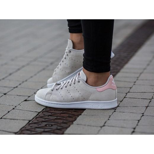 wyprzedaż w sklepie wyprzedażowym sprzedaż hurtowa niesamowite ceny Buty damskie sneakersy adidas Originals Stan Smith BB5048 szary  sneakerstudio.pl