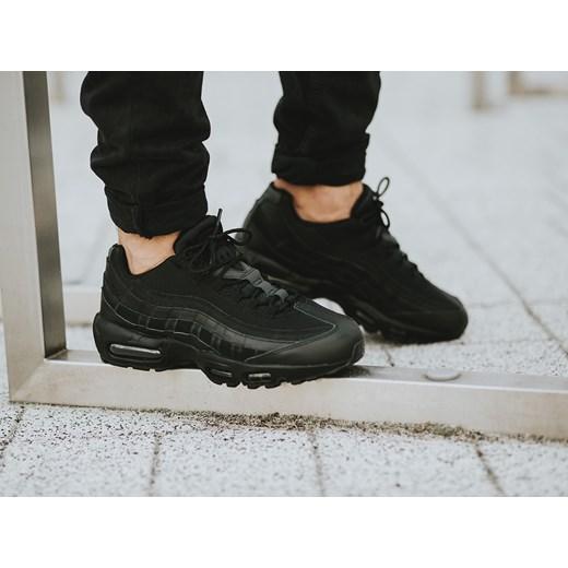 size 40 fe685 3f7a5 ... Buty męskie sneakersy Nike Air Max 95 Essential 749766 009 czarny Nike  42 okazja sneakerstudio.