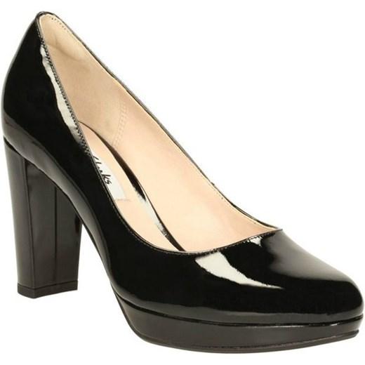 6ecd20b885a84 Clarks Czółenka Kendra Sienna Black Patent czarny Clarks 39 Clarks Sklep ...