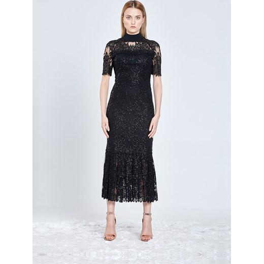 5a71df7830 Sukienka midi z koronki francuskiej Wonderland Tomaotomo By Tomasz  Olejniczak 38 showroom.pl