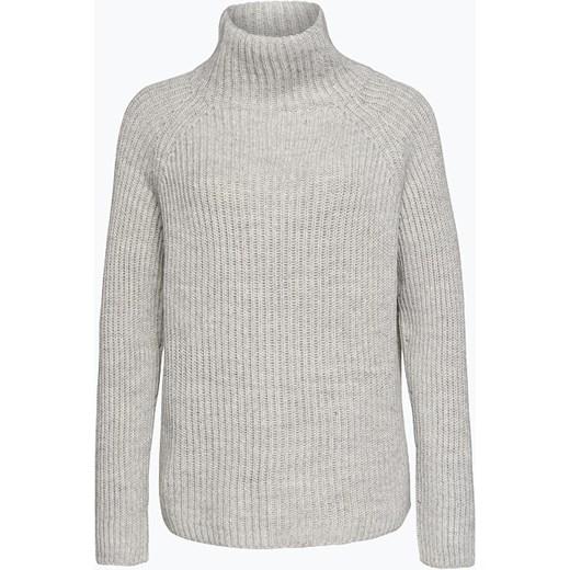a54462064c7ef9 Drykorn - Sweter damski z dodatkiem wełny merino i alpaki – Arwen, szary  vangraaf w Domodi