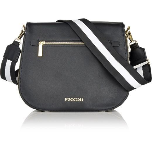 10ee3be2c4546 Fashion Collection torebka na szerokim pasku szary Puccini Royal Point