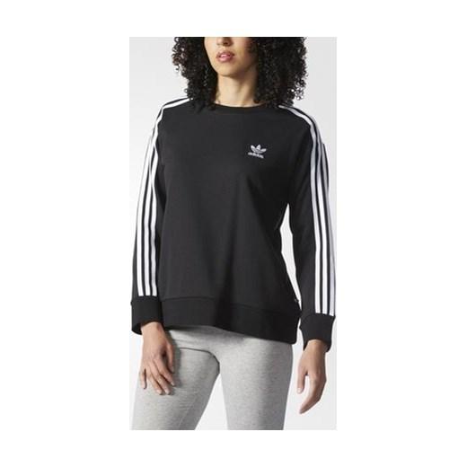 Bluza damska Adidas Originals 3 Stripes Hoodie black