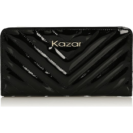 acb1ce702303a Czarny portfel damski Kazar kazar.com w Domodi