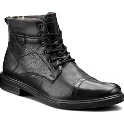 9db96e7f Czarne buty zimowe męskie wojas, lato 2019 w Domodi