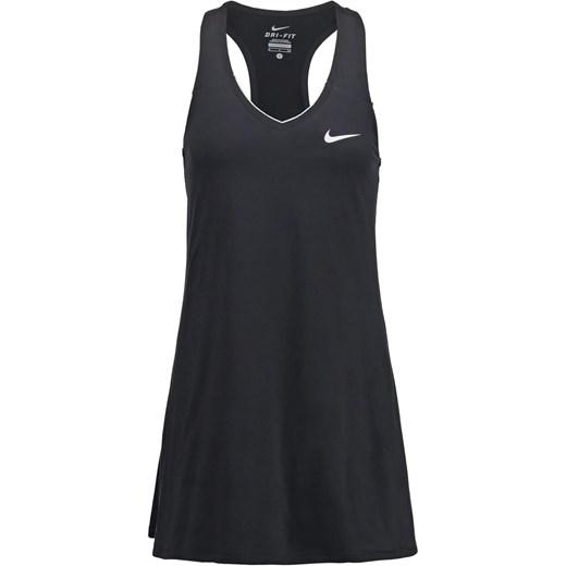 7854dfddd5 Nike Performance PURE Sukienka sportowa black white zalando czarny mini