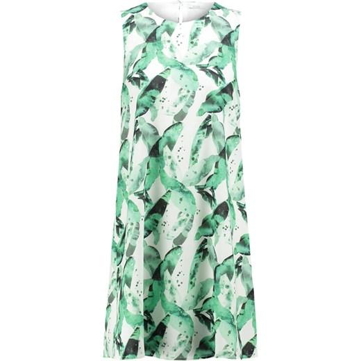 5b00f843c KIOMI Sukienka letnia white/green Zalando w Domodi
