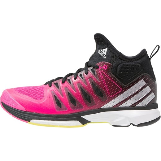 4374e519c667e adidas Performance VOLLEY RESPONSE BOOST 2.0 Obuwie do siatkówki shock pink silver  metallic core