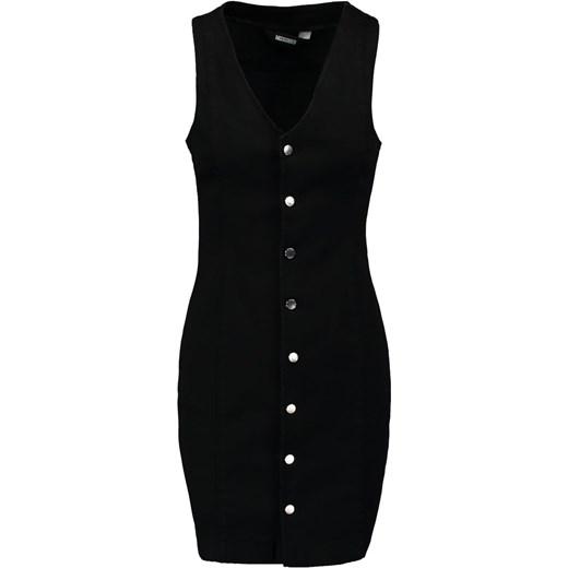 b461e650c7c26 Missguided Sukienka jeansowa black czarny Zalando w Domodi