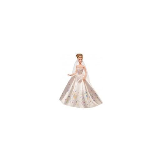 Barbie Lalka Kopciuszek W Sukni ślubnej Mattel Bezowy Kidrock W Domodi