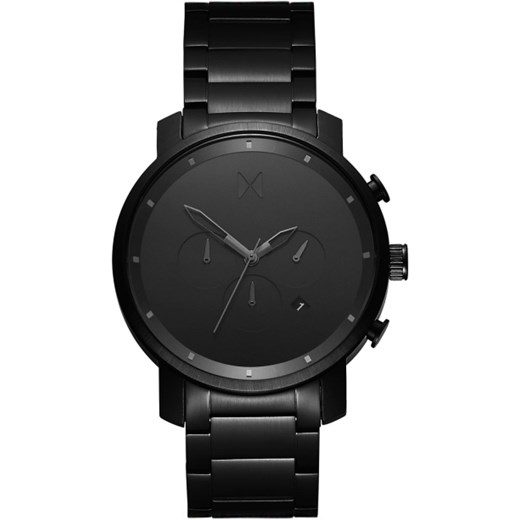 CHRONO ALL BLACK Mvmt Watches szary  theClassy.pl
