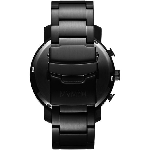 CHRONO ALL BLACK czarny Mvmt Watches  theClassy.pl
