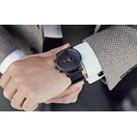 CHRONO ALL BLACK rozowy Mvmt Watches  theClassy.pl