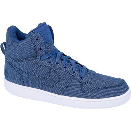 a3186613 Buty Nike Court Borough Mid Premium- 844884-400 niebieski Nike UrbanGames