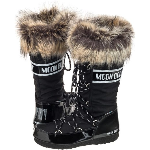 d0fab694 Śniegowce Moon Boot W.E. Monaco Black 24002800001 (MB22-a) Moon Boot 40  ButSklep