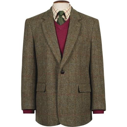 96bb8ddd8f4f0 Marynarka Harris Tweed szary Harris Tweed 58 Heritage & Tradition Barbour