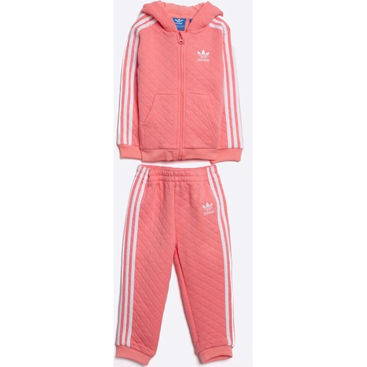 2b8fe398c59f5 adidas Originals - Komplet dziecięcy 86-116 cm Adidas Originals rozowy 86  okazja ANSWEAR. ...