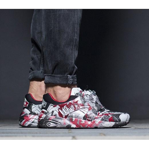 Buty męskie sneakersy Puma Disc Blaze Camo x Trapstar 361647 01 sneakerstudio.pl