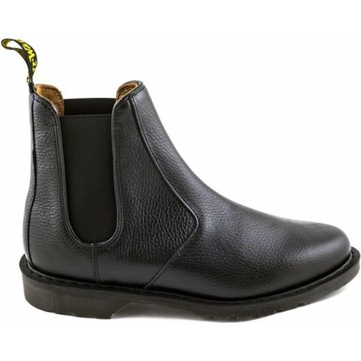 trampki buty na codzień nowy styl Sztyblety Dr. Martens VICTOR Black New Nova szary Martensy.pl