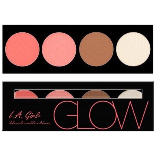 Paleta L.A. Girl USA - Beauty Brick Blush - Glow Sleek Makeup czarny Glowstore.pl