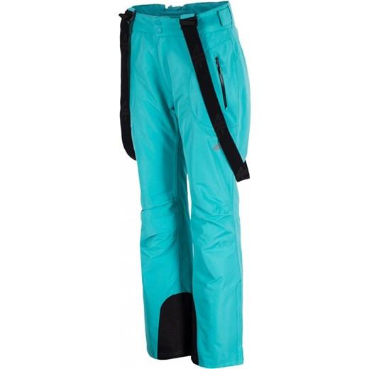 [T4Z16 SPDN001] Spodnie narciarskie damskie SPDN001 turkus jasny 4F